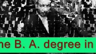Martin Luther King, Jr., (January 15, 1929-April 4, 1968)