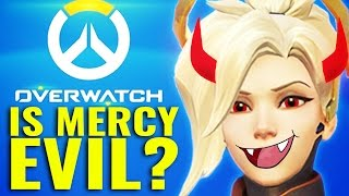 Is Mercy Evil?! (THEORY) [Overwatch Explained]