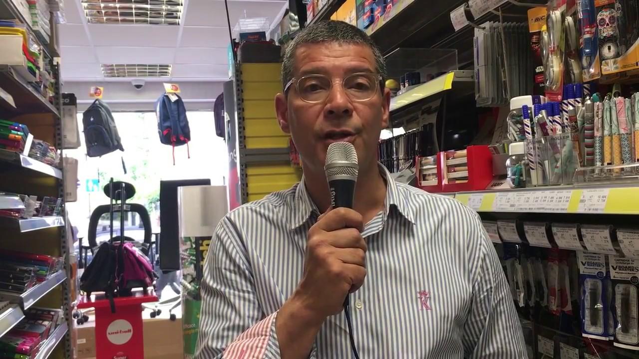 Interview D Eric Millet Franchise Bureau Vallee A Paris Et A