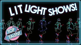 INCREDIBLE Light And Laser Shows! Part One | Top Talent