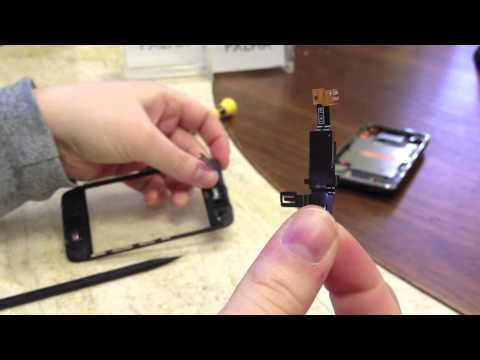 How to replace an iPhone 3G 3GS proximity sensor cable