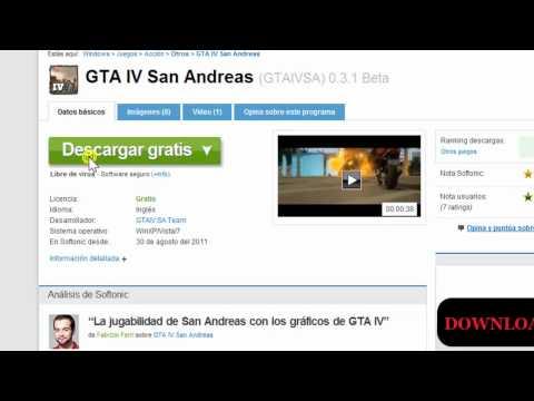 Como Descargar Gta Iv San Andreas