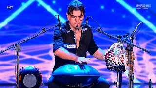 ITALIA'S GOT TALENT - Loris Lombardo - Standing ovation - (handpan)