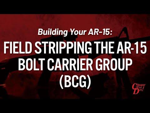 Building Your AR-15: Field Stripping the AR-15 Bolt Carrier Group (BCG)