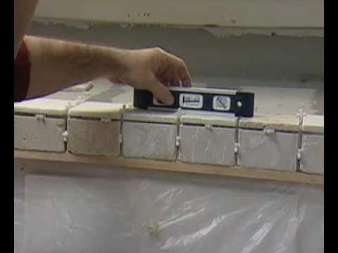 C mo instalar losas en un mostrador de cocina con for Se puede poner una chimenea en un piso