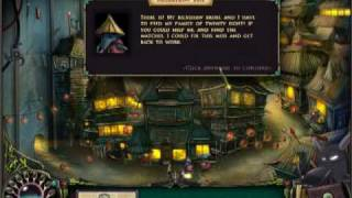 Hidden Object Game Brunhilda and the Dark Crystal