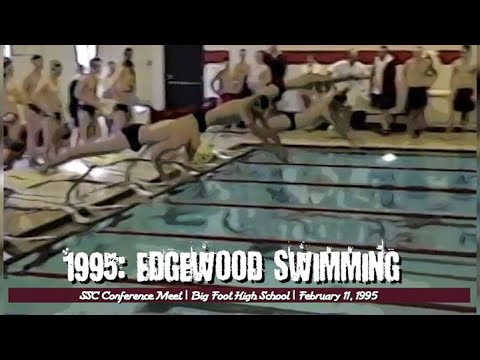 1995 Edgewood Swimming: Conference Meet 400 Free Relay