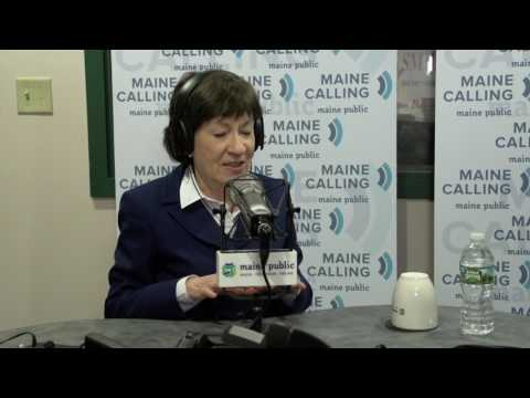 "Senator Susan Collins (R-Maine) on Maine Public Radio's weekday call-in program ""Maine Calling"""