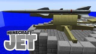 Die stärkste Abwehr! RIESIGE Atomrakete! - Minecraft JET #09