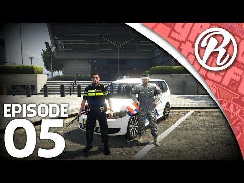 [GTA5] ROY ZOEKT BAAN BIJ DE POLITIE!! - Royalistiq | Roy Zoekt Baan #5