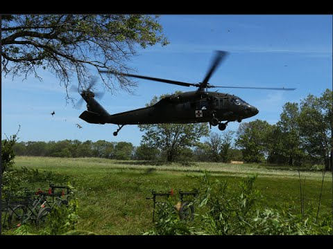 135th Medical Company - MIles Paratus Training Video Wisconsin Army National Guard