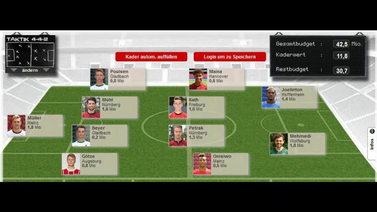 Kicker Interactive Manager
