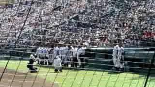 横浜高校 校歌♪(90回夏 広陵高校戦)