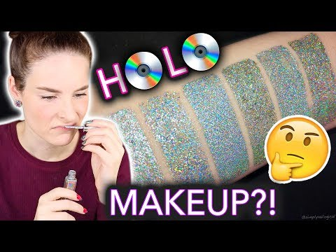 Testing REAL Holographic Makeup?! (too good to be true?)
