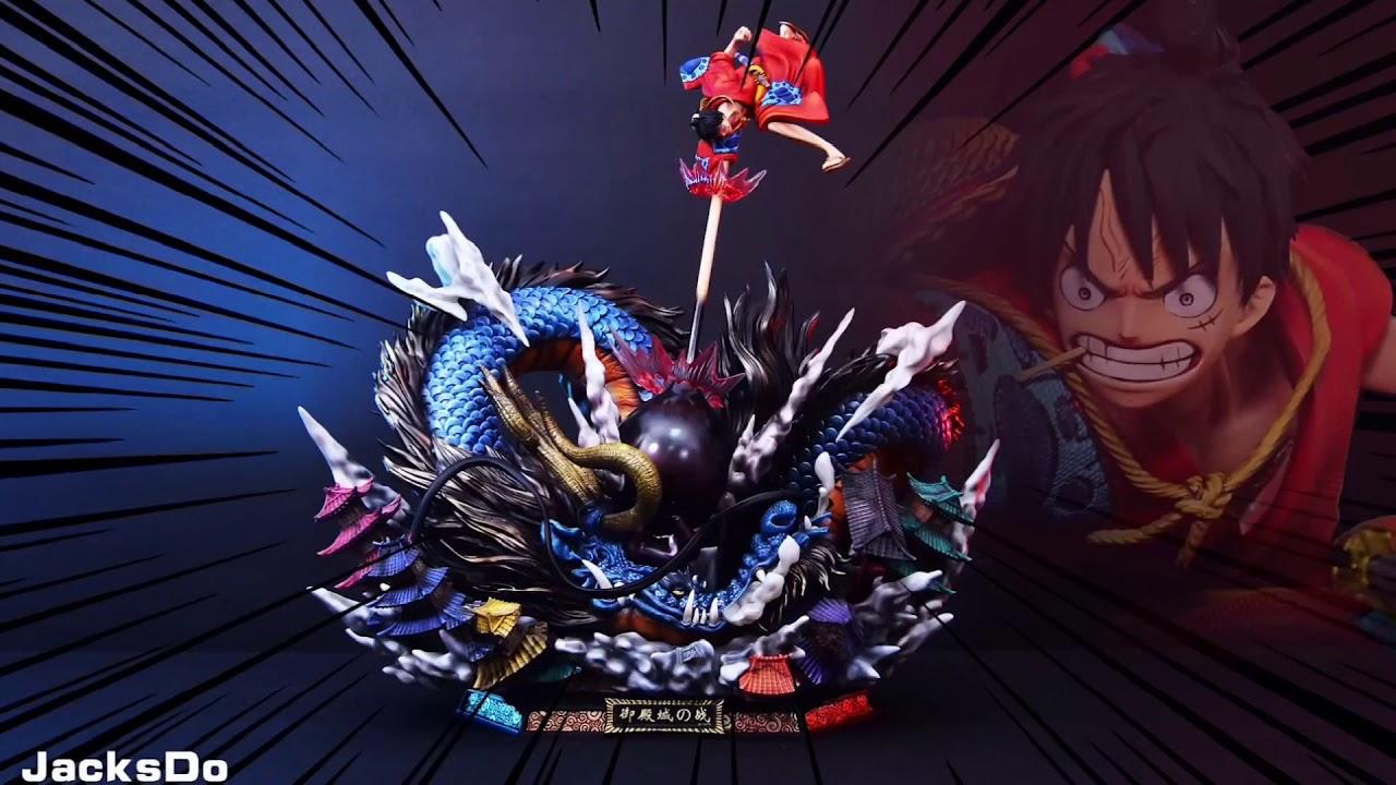 While everyone around them panics, thinking this is a new enemy, luffy remains calm,. Jacksdo Luffy Vs Kaido Dragon Gk Youtube