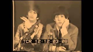 Beatles True Press Conference Delmonico Hotel New York 1964 RARE!!