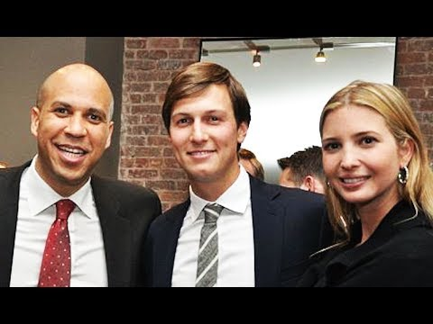 Why Cory Booker Gets Along So Well With The Trump Family
