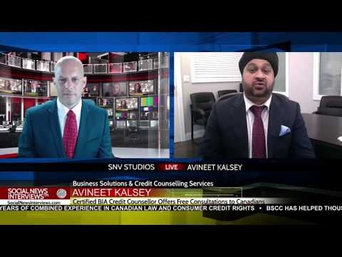 Credit Counselling Advice For Canadians – Avineet Kalsey BSCC
