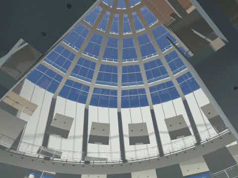 High Museum of Art Atlanta -Rendering Project by  Andrés Suárez