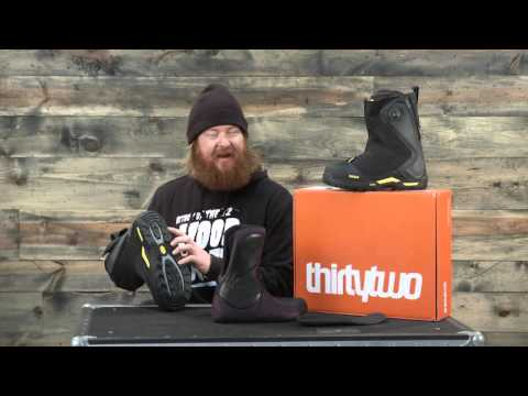 2016 Thirty Two MTB Jeremy Jones Snowboard Boot Review: The-House.com