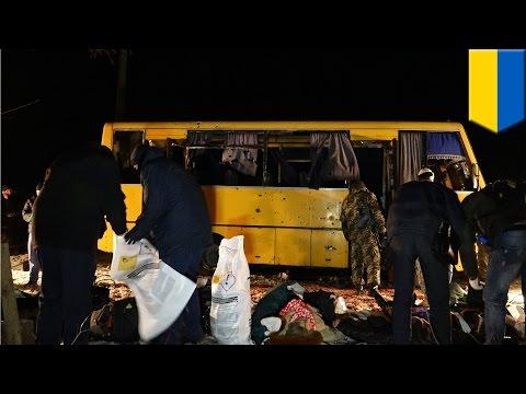 Ukraine war: bus attack in Eastern Ukraine's Volnovakha kills 11