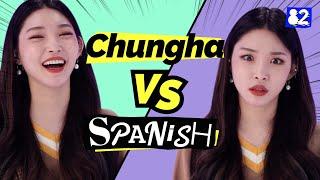 Gambar cover Can CHUNG HA speak Spanish? | Guess the Spanish Words