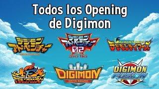 Todos los Opening de Digimon - Latinoamerica (HD)
