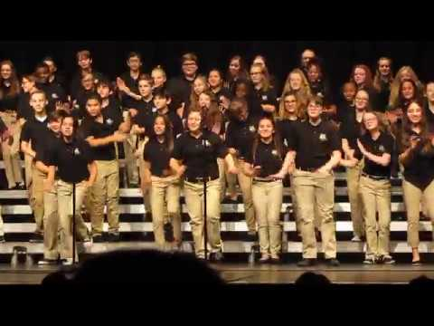 """Madison Hopper """"No Time to Diet"""" - Noblesville East Middle School Christmas Program 12-13-2019"""