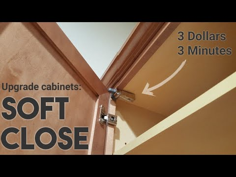 How To Install Soft Close Cabinets - Fast And Affordable Method