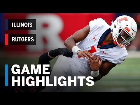 Highlights: llinois Fighting Illini vs. Rutgers Scarlet Knights | Big Ten Football
