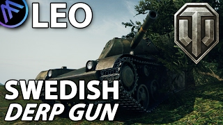^^  LEO Swedish Derp Gun. (World of Tanks Gameplay.)