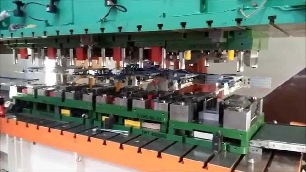 The Die Stamping Transfer Tool Youtube