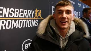'I'M GOING TO KEEP HOLD OF MY BELTS' BRAD FOSTER TALKS UPCOMING REMATCH WITH LUCIAN REID