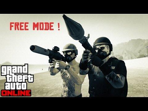 GTA-V ONLINE || FREE MODE || sessão pública ! #11