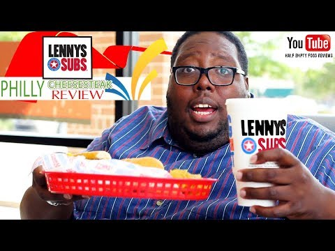 Lenny's Sub Shop Philly Cheese Steak Food Review
