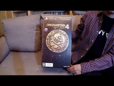 Uncharted 4 распаковка издания