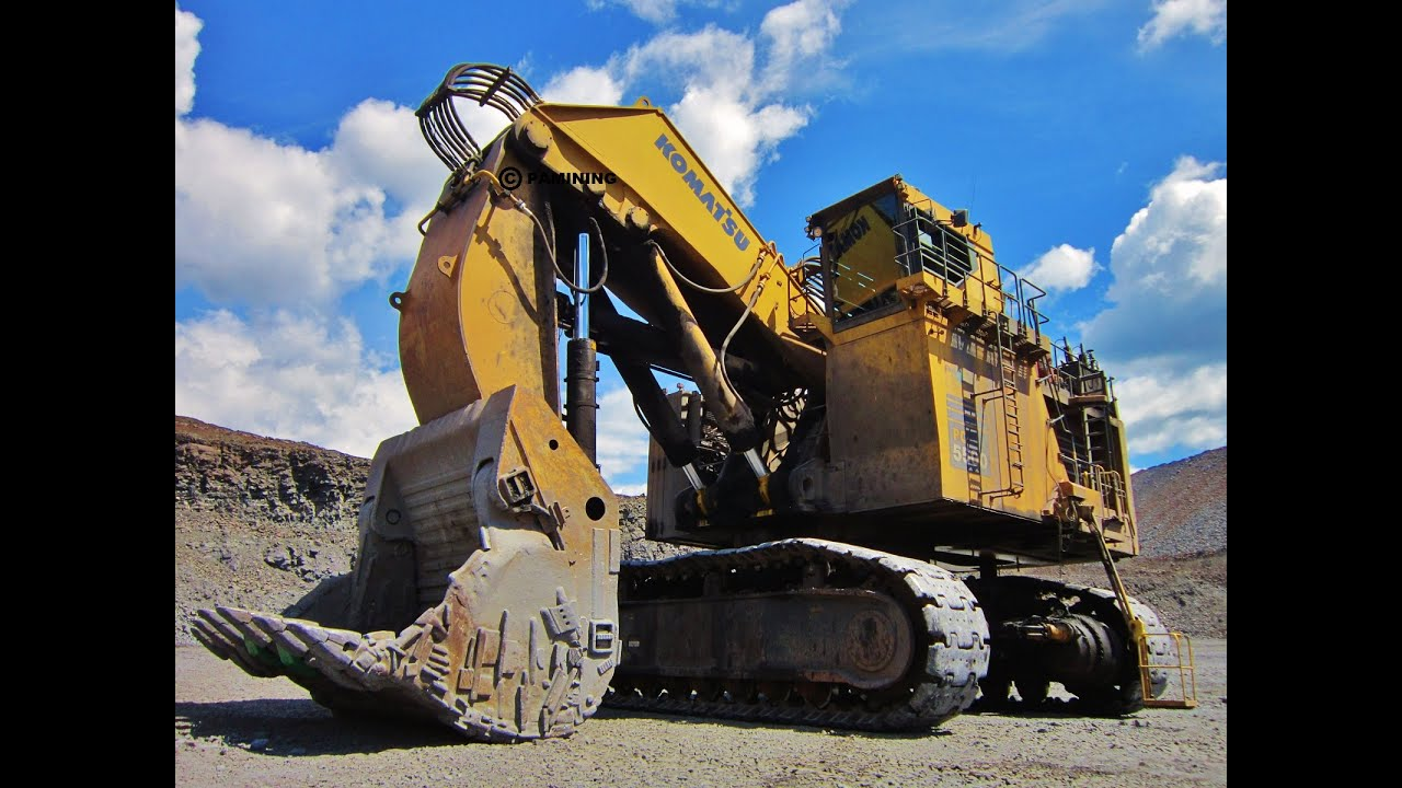 Ten Of The World S Biggest Mining Excavators