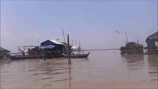 TonleSap River - Cycling tour Saigon - Phnom Penh - Bangkok