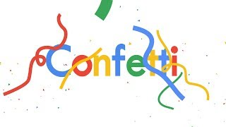 Google Confetti in After Effects