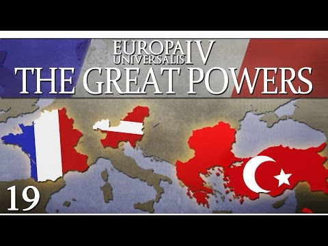 Europa Universalis IV - The Great Powers - Episode 19 ...'Trumpet'-Blocked by France...
