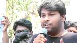 தண்ணி இல்லனா சோத்துக்கு பதிலா *** திங்கணும் -  PARITHABANGAL Sudhakar angry speech