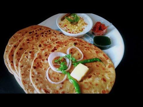 आलू का पराठा बनाने की विधि | Aloo Paratha Recipe in Hindi | Dhaba Style Punjabi Aloo Paratha