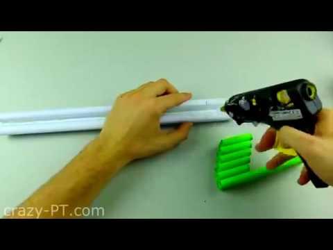 Как сделать дробовик из бумаги который стреляет фото 344