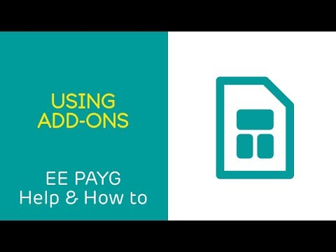 EE PAYG Help & How To: Using Add-ons