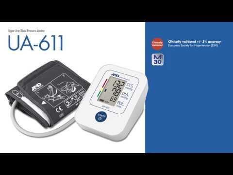 the-ua-611-/-ua-651sl-upper-arm-blood-pressure-monitor-|-a&d