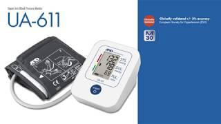 The UA-611 / UA-651SL Upper Arm Blood Pressure Monitor | A&D