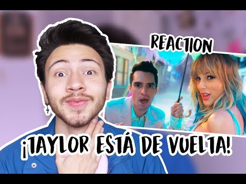 REACCIÓN A &39;ME&39; - TAYLOR SWIFT ft BRENDON URIE  Niculos M