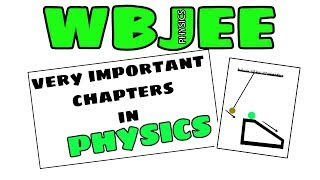WBJEE Physics Most Important Chapters with tips and tricks @ s4 science