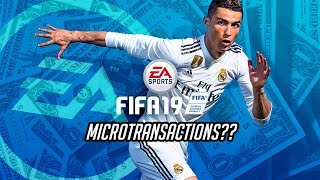 FIFA 19 PRO CLUBS | MICROTRANSACTIONS??