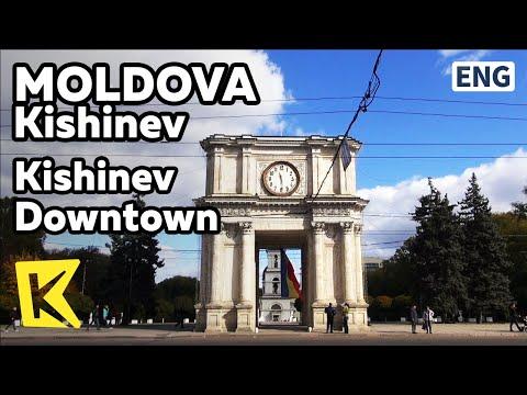 【K】Moldova Travel-Kishinev[몰도바 여행-키시너우]키시너우 시내/Apartment/Triumphal arch/Chess/War memorial